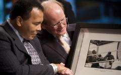 O fundador e Presidente da Alltech, Dr. Pearse Lyons, relembra momentos com o grande Muhammad Ali