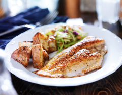 Tilápia: Uma opção saudável e saborosa na sua alimentação