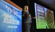A Diretora Técnica Global da Alltech Algae, Becky Timmons, palestrou durante a sessão especial de aquicultura, no ONE.